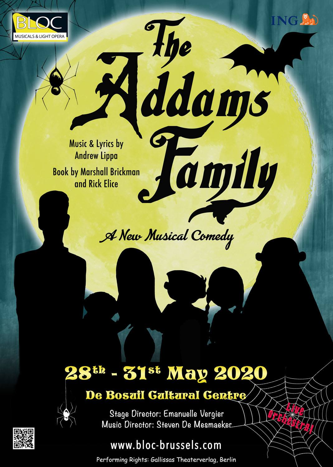Addams Family - Front Poster