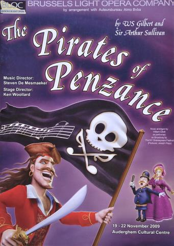 Pirates of Penzance 2009