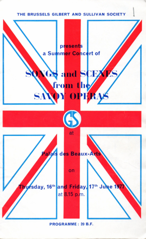 Songs and Scenes from the Savoy Operas (G&S Summer Concert 1977)