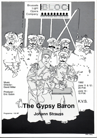 The Gypsy Baron (1992) – programme