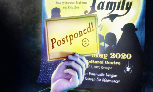 Addams Cancellation Poster